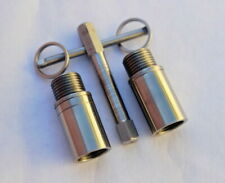 """Bicycle Stainless Steel  Pedal Extender. 9/16"""" Thread 20mm, 25mm, 30mm long!"""