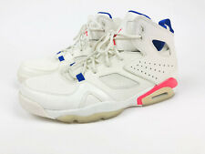 Air Jordan Flight Club 91 Men Sz 11 Ultramarine Basketball Shoes 555475-125 High