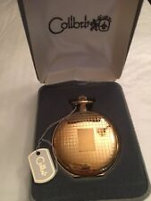 Colibri Swiss Goldtone Case & Face Pocket Watch *Brand New*
