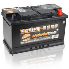 ECTIVE EHC80 AGM-Batterie 12V 80Ah Start-Stop Batterie Vliesbatterie VRLA Akku