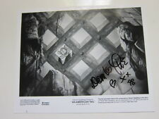 DOM DELUISE American Tale 8x10 photo  AUTOGRAPHED