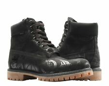 "Timberland Mens 6"" Premium NBA East Vs West Limited Edition Black Boots"