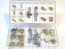 Cable fitting assortment motorcycle clutch throttle brake cables making set kit