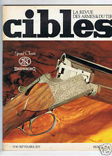 CIBLES N°49  ARMES TIR CHASSE / HUNTING ARMS