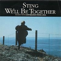 STING We'll be together FR Press SP