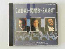 CD Carreras Domingo Pavarotti Die schönsten Opernarien