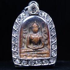 Rare Antique Ancient Siam Sum Kor,Thai Buddha Amulet Pendant # Champ Condition!