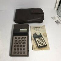 TI-5025 Texas Instruments  Portable Printing Electronic Calculator Untested