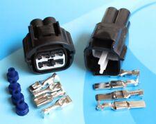 4.8 mm conector Impermeable para Coche terminal de Enchufe De Luz Ventilador 2P 3P 4P 2Way - 4Way
