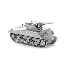Fascinations Metal Earth 3D Steel Model Kit WWII United States Sherman Tank