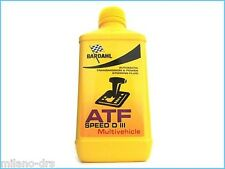 OLIO TRASMISSIONE CAMBIO DIFFERENZIALE BARDAHL ATF SPEED D III MULTIVEHICLE 1L