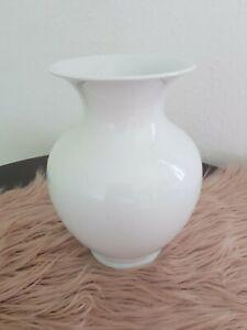Schumann Arzberg Bavaria Vase Kugelvase weiß Porzellan klassische Form
