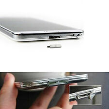 Samsung Galaxy S5 USB Charge Dock Charging Port Cover Flap Door Dust Plug Silver