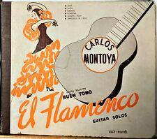 Flamenco 78 Álbum: Carlos Montoya Discotecas Selectos Buen Estilo el 3 Discos