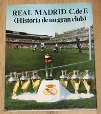 REAL MADRID (Historia de un Gran Club) Vol 1 1984 Libro Luis Miguel González