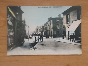 VINTAGE POSTCARD - COMMERCIAL STREET - BRIGHOUSE  6590