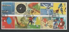 GB 2010 Olympic & Paralympic Games 2012 fine used set stamps on piece