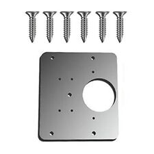 Mintiml  Hinge Repair Plate Rust Resistant Stainless For Cabinet Drawer Window