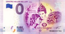 PORTUGAL Lisboa, Centro Helen Keller, Texte en Braille, 2018,Billet 0 € Souvenir