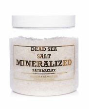 1000g•1kg Dead Sea mineralized salt from Jordan•Natural•Bath & Relax•100% Pure•