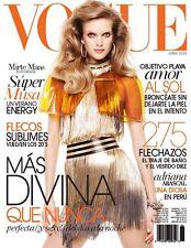 Vogue Mexico Magazine, June 2013, Mirte Maas, Nagi Sakai NEW
