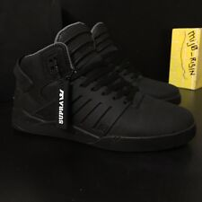 "PADS Supra Footwear Skytop 3 OG Chad Muska Pro Model ""Triple Black"" Men Size 9"