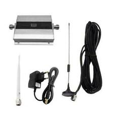 EU Plug 900Mhz GSM 2G/3G/4G Signal Booster Repeater Amplifier Antenna for Phone