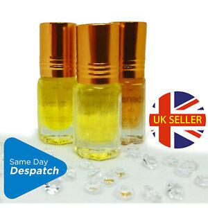 ANY 3 FRAGRANCE OILS 3ml £7.99!!QUALITY LASTING Attar PERFUME House of Fragrance
