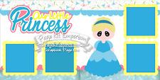 Scrapbook Page Kit Paper Piece Princess Girl Cinderella Baby PKEmporium 108