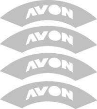 4x AVON tyre stencils, Rauh Welt,illest, fatlace, RWB,drift, tyre