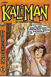 Kaliman El Hombre Increible #915 - Junio 10, 1983 - Mexico