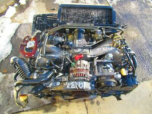 2001 2005 Subaru Impreza Wrx EJ205 2.0L Turbo Engine Auto Transmission NON AVCS