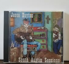 Jesse Dayton Autographed CD SOUTH AUSTIN SESSIONS Stag Records RARE HTF