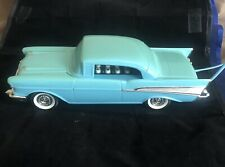 Vintage Teal Blue Telemania '57 Chevy Phone desk telephone, With Teal Extension