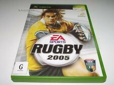 Rugby 2005 Xbox Original PAL *No Manual*