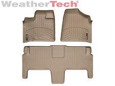 WeatherTech FloorLiner - Dodge Grand Caravan 2nd Row w/ Bucket - 2008-2012 -Tan