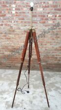Handmade Wooden Three Fold Tripod Stand Modern Floor Lamp Tripod Stand