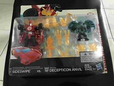 Transformers RID Sideswipe vs Decepticon Anvil NEW