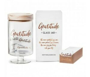 Memories Glass Jar from Gratitude Glass Jars NIB Oprah's Favorite Things! JH