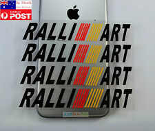Ralliart Black Vinyl Car Truck Door Handle Protector Sticker Decal Lancer