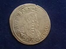 VI ( 6 ) Kreuzer 1670 Graz  Leopold  I.  RDR  W/18/118