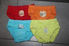 4 Stück Disney Slips Unterhosen C&A Gr 110 116