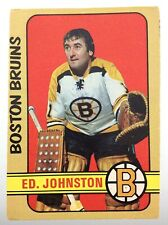 1972-73 Ed. Johnston Boston Bruins 261 OPC O-Pee-Chee Hockey Card S021