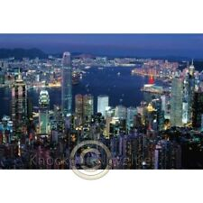 1000 Piece Glow-In-The-Dark Puzzle Hong Kong By Night Puzzle Hobby Jigsaw Pieces