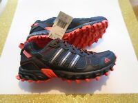 New Adidas  Rockadia Trail M Men's Size 6.5 Hiking Running Shoes BY1790 Black