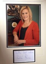 KATE BLISS - TV ANTIQUES EXPERT - BRILLIANT SIGNED COLOUR PHOTO DISPLAY