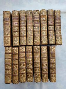 histoire romaine depuis la fondation de Rome 15 tomes Rollin /Crevier 1758 1764