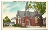 Epworth Methodist Church, Ripley, WV Postcard *6V(4)33