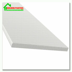 UPVC FLAT PLASTIC SOFFIT BOARD | GENERALl PURPOSE | UTILITY BOARD 10mm THICK