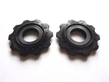 *NOS Vintage 1980s Campagnolo C-Record black derailleur jockey wheels upgrade*